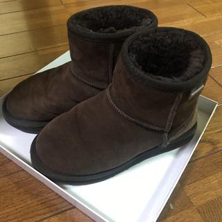 エミュー(EMU)のemu*ムートンショートブーツ(ブーツ)