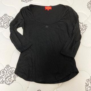 ヴィヴィアンウエストウッド(Vivienne Westwood)のVivienne Westwood オーブ 刺繍 カットソー(カットソー(長袖/七分))