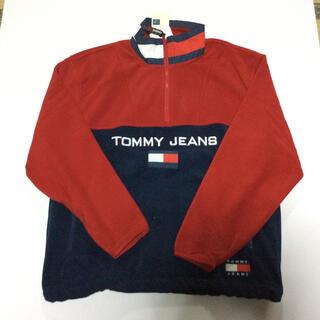 トミーヒルフィガー(TOMMY HILFIGER)のTommy Jeans フリースアノラック 新品 トミージーンズ(その他)