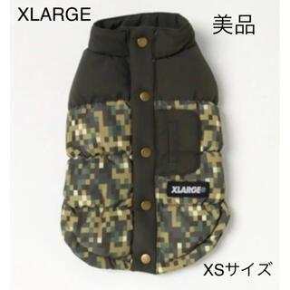 X-LARGE デジカモダウンベスト秋冬 犬服