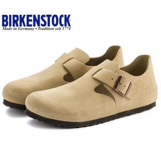 BIRKENSTOCK - 新品 ビルケンシュトック ロンドン スウェードレザー サンド 42  27cm