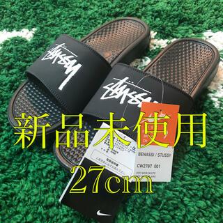 NIKE - Nike Stussy べナッシ サンダル 黒 27cm