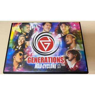 ジェネレーションズ(GENERATIONS)のGENERATIONS LIVE TOUR 2017 MAD CYCLONE D(ミュージック)