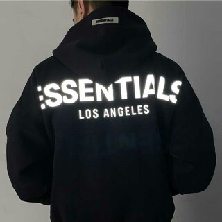 FEAR OF GOD - FOG ESSENTIALS LA限定 パーカー