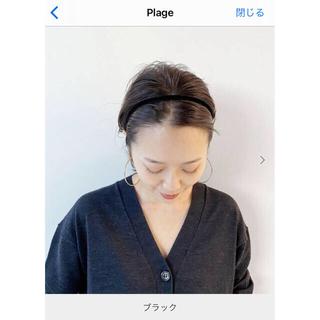 ゴープロ(GoPro)のプラージュ  新品★ カチューシャ BLACK(カチューシャ)