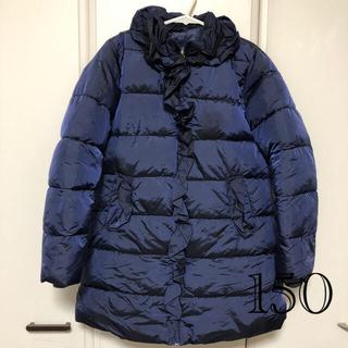 韓国子供服ネイビーダウンコート*150*(ジャケット/上着)