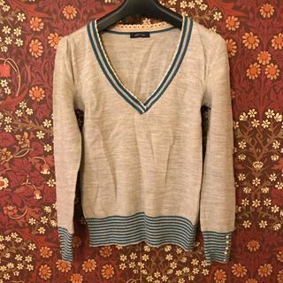 プーラフリーム(pour la frime)の【Pour la frime】Vネックセーター フリーサイズ(ニット/セーター)