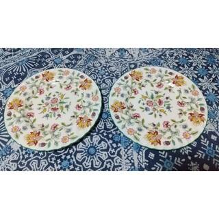 ミントン(MINTON)のミントン ハドンホールグリーン ケーキプレート20cm デザート皿(食器)