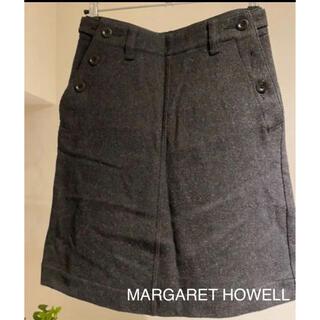 マーガレットハウエル(MARGARET HOWELL)の⭐︎あったかウール⭐︎MHL 膝丈スカート Sサイズ(ひざ丈スカート)