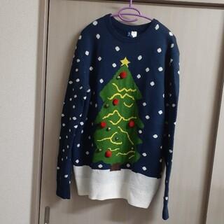 エイチアンドエム(H&M)のクリスマス ニット セーター アグリー(ニット/セーター)