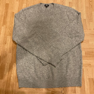UNIQLO - ユニクロ カシミヤセーター グレー