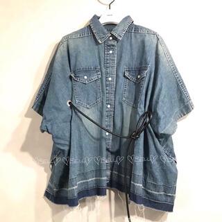 サカイ(sacai)の♡サカイ♡2020SS♡デニムシャツ♡(シャツ/ブラウス(半袖/袖なし))