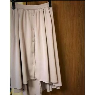 ヴィス(ViS)のレディース スカート フレア デート 膝丈スカート オフィス デート(ひざ丈スカート)