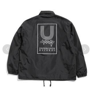 アンダーカバー(UNDERCOVER)のundercover コーチジャケット Lサイズ ブラック(ナイロンジャケット)