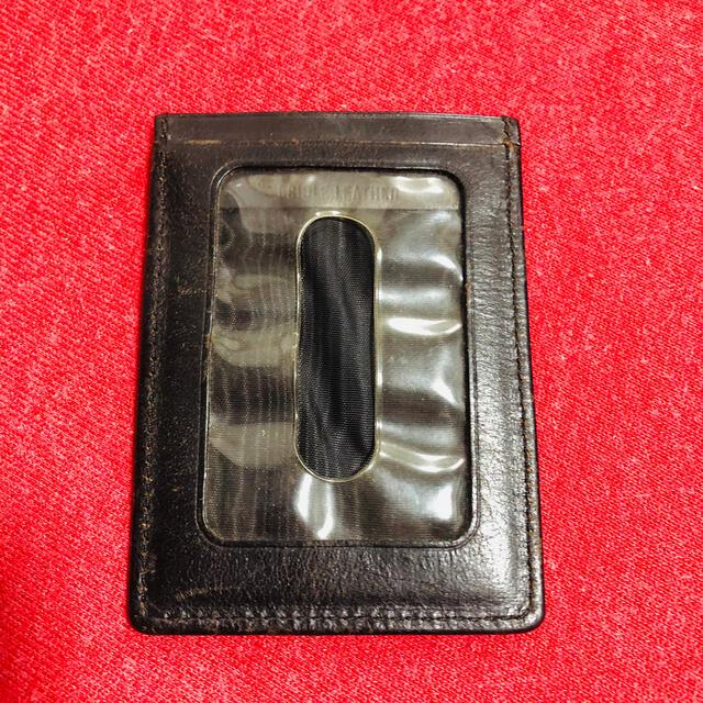 WHITEHOUSE COX(ホワイトハウスコックス)のユナイテッドアローズ購入 レザー定期入れ カードケース メンズのファッション小物(名刺入れ/定期入れ)の商品写真