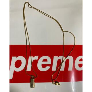 Supreme - supreme  金塊 ネックレス 14k