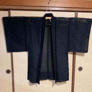 男性 夏用 透ける羽織 ジャケットとして(着物)