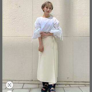 Ciaopanic - 【新品・未使用・タグ付き】フェイクレザーラップロングスカート