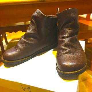 イング(ing)のing 革ショートブーツ(ブーツ)