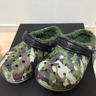 crocs - 新品☆crocs クロックス☆迷彩☆17.5㎝