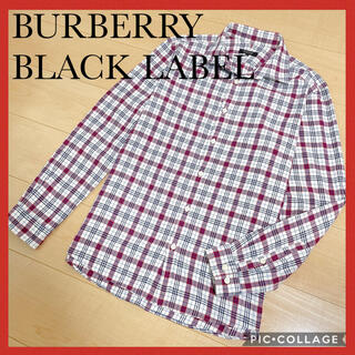 バーバリーブラックレーベル(BURBERRY BLACK LABEL)のバーバリーブラックレーベル チェックシャツ サイズ3(シャツ)