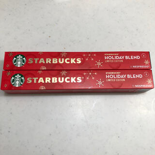 Starbucks Coffee - ネスプレッソ STARBUCKS スターバックス カプセル 新品