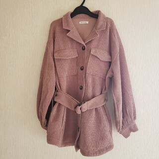 natural couture - 【natural couture】シャツジャケット、コーデュロイ