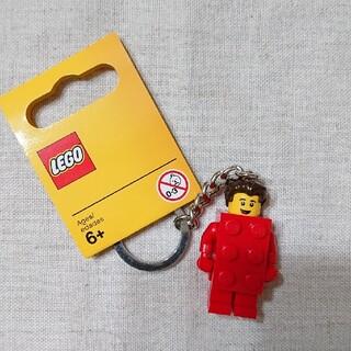 レゴ(Lego)のレゴ キーチェーン レッド(キーホルダー)