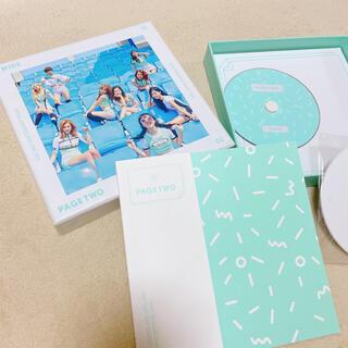 ウェストトゥワイス(Waste(twice))のTWICE*PAGE TWO-Mint ver-(K-POP/アジア)