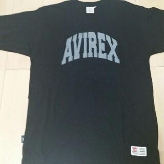 アヴィレックス(AVIREX)のAVIREX USA Tシャツ ブラック ビックロゴ(Tシャツ/カットソー(半袖/袖なし))