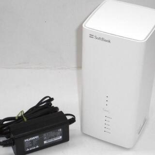 ソフトバンク(Softbank)のソフトバンクエアー エアーターミナル3 Wi-Fiルーター(PC周辺機器)