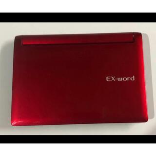 カシオ(CASIO)のCASIO EX-word 電子辞書 XD-D6600 赤(電子ブックリーダー)