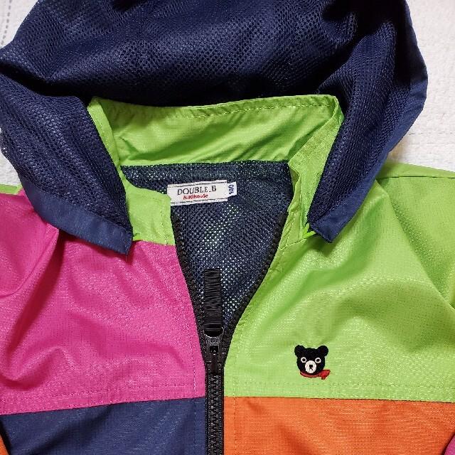 DOUBLE.B(ダブルビー)の大人気!ミキハウスDOUBLEB 140サイズジャンパー、上着 キッズ/ベビー/マタニティのキッズ服男の子用(90cm~)(ジャケット/上着)の商品写真
