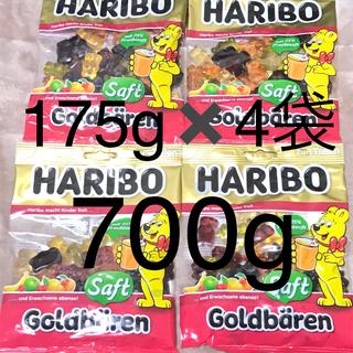 ゴールデンベア(Golden Bear)のHARIBO ハリボーグミ ゴールドベア175g✖️4袋(菓子/デザート)