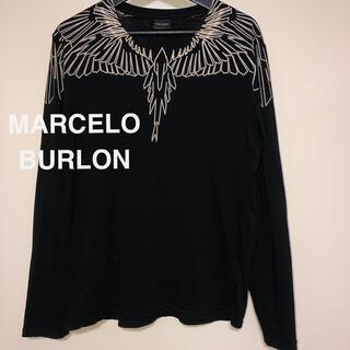 マルセロブロン(MARCELO BURLON)の【正規品】MARCELO BURLON  ロンT(Tシャツ/カットソー(七分/長袖))