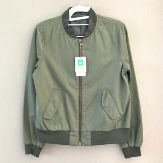 green label relaxing - 【新品・タグ付き】green label relaxing MA-1 ブルゾン