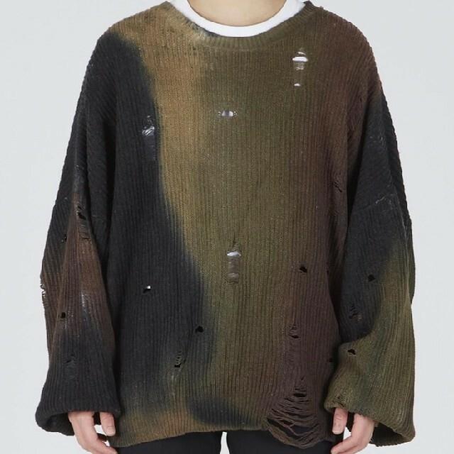 ALLEGE(アレッジ)のttt_msw エモーショナルニット メンズのトップス(ニット/セーター)の商品写真