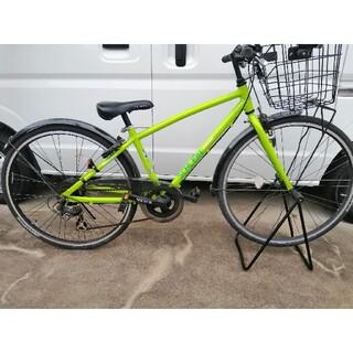 ブリヂストン(BRIDGESTONE)のジュニア26インチ自転車(自転車本体)