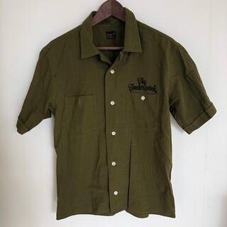 テンダーロイン(TENDERLOIN)のTENDERLOIN テンダーロイン オープンシャツ カーキ/Sサイズ(Tシャツ/カットソー(半袖/袖なし))