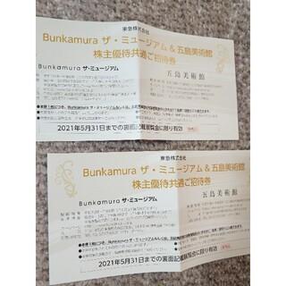 ベルナール・ビュフェ 回顧展  bunkamura 招待券2枚です。
