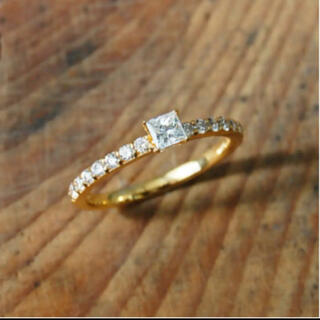 agete - Avaron K18 Princess Ring