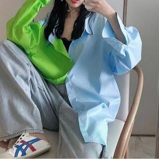 HARE - ハレ 韓国 コントラスト シャツ