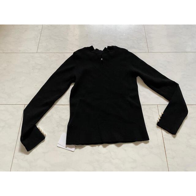 Rirandture(リランドチュール)のパールビジューニット レディースのトップス(ニット/セーター)の商品写真