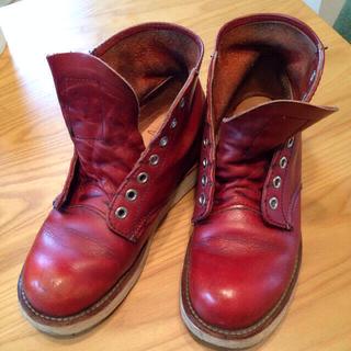レッドウィング(REDWING)のレッドウィング紐付き箱付き(ブーツ)