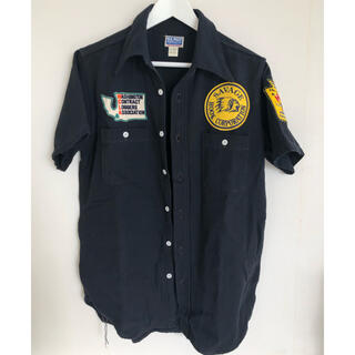 THE REAL McCOY'S - THE REAL McCOY'S ザリアルマッコイズ ワッペンワークシャツ