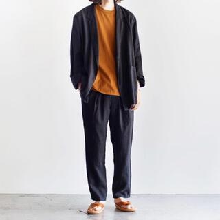 マーカウェア(MARKAWEAR)の【即購入OK】送料無料 18SS マーカウェア リネンシャツジャケット サイズ2(テーラードジャケット)