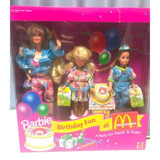 Barbie - 未開封 バービー人形 マクドナルド