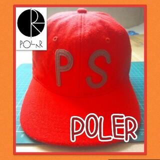 Poler ポーラー スケートボード キャップ(スケートボード)