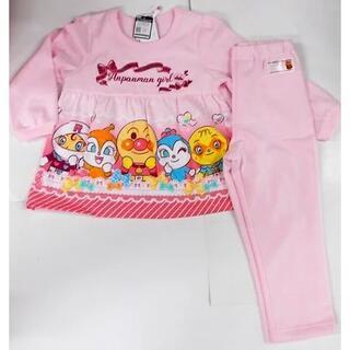 アンパンマン - 新品 100cm アンパンマン 寝ても覚めても光るパジャマ ズボンピンク