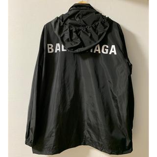 Balenciaga - 【BALENCIAGA】バレンシアガ  ロゴ レインコート ナイロンジャケット